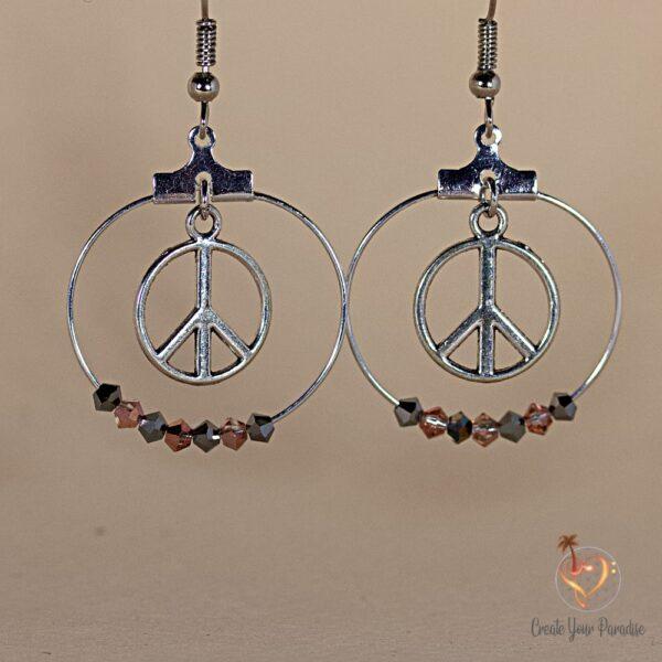 Boucles d'Oreilles Peace